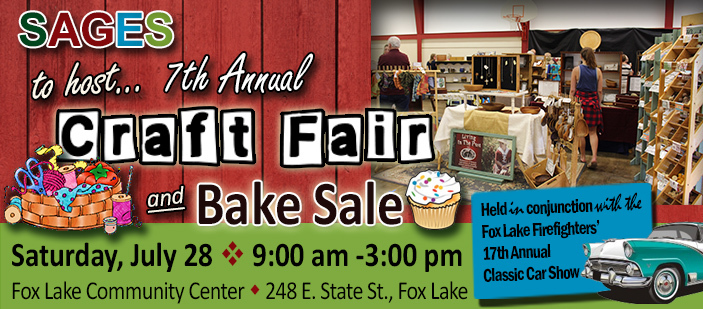 SAGES to Host 7th Annual Craft Fair & Bake Sale