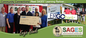 "SAGES' is proud to recognize Ergo Bank as our featured ""Learning Partner"" for August!"