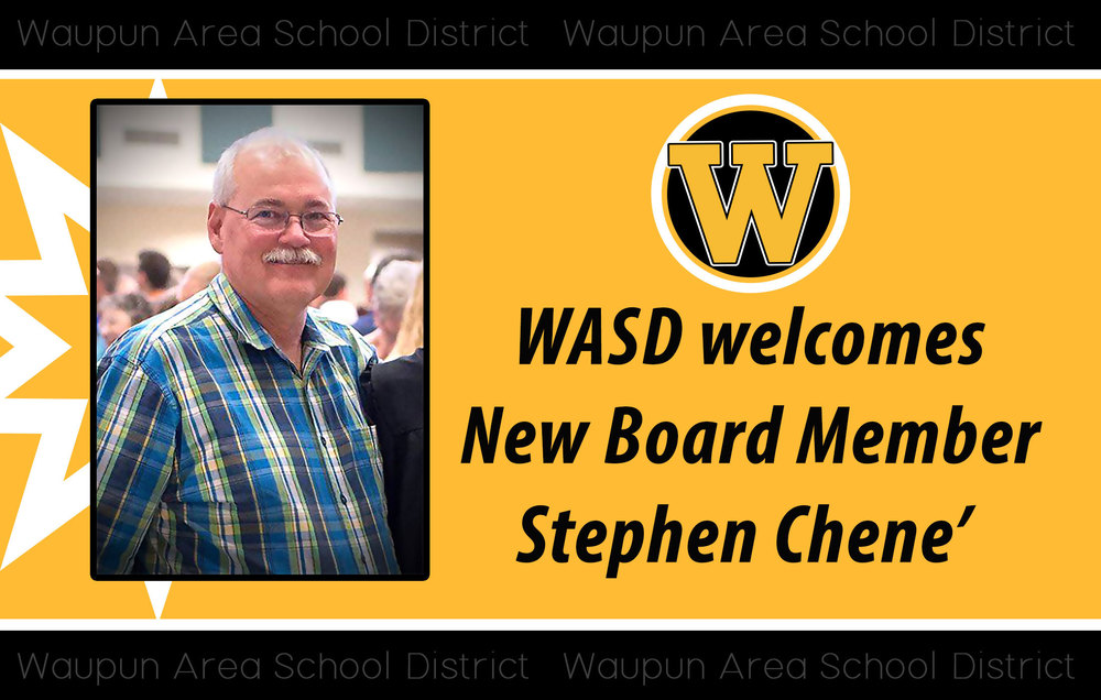 Stephen Chene' Selected as New Board of Education member